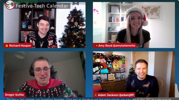 Festive Calendar 2020 – Thanks Gregor and Richard for a great Advent Idea