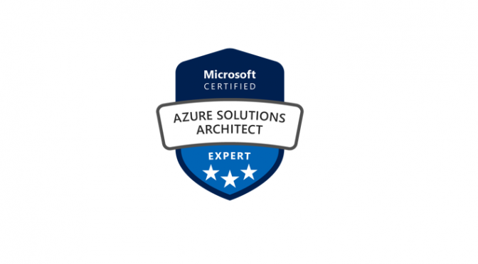 Azure Solutions Architect banner