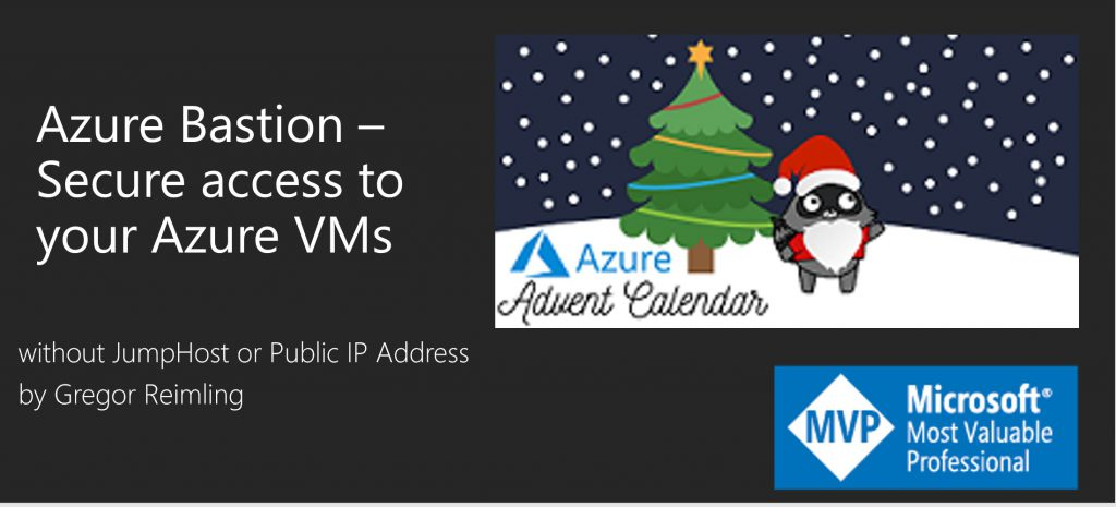 Azure Advent Calender Azure Bastion session